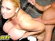 Super hot babe big natty babe samantha gets pounded hard in these hot shower banging vids